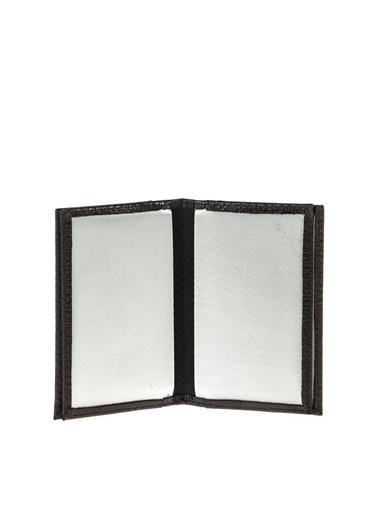Cotton Bar 32Alt 105 Portfoy Deri Erkek Kartvizitlik Siyah